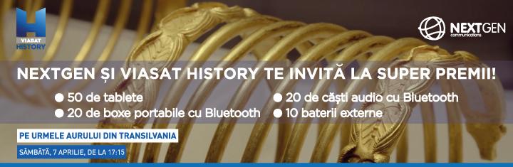 NextGen si Viasat History te invita la super premii!