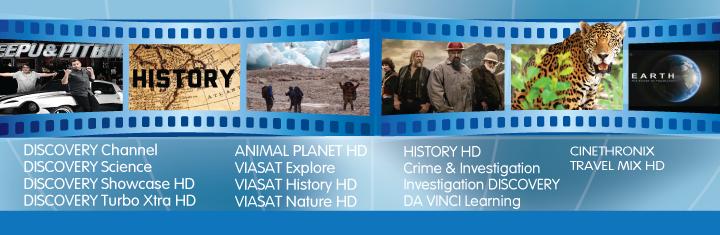 La NextGen ai cele mai bune canale documentare!