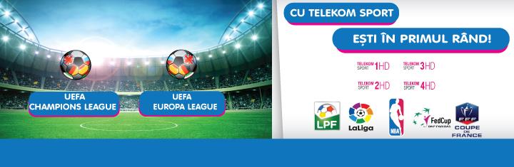 Cu Telekom Sport si NextGen esti mai aproape de cele mai importante competitii sportive!