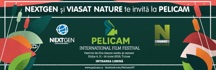 NextGen si Viasat Nature te invita la Pelicam, Festivalul International de Film despre Mediu si Oameni, editia 4, in perioada 11 si 14 iunie 2015, Tulcea.