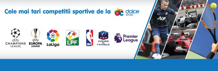 Cu Dolce Sport si NextGen esti mai aproape de cele mai importante competitii sportive!